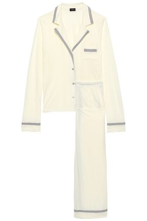COSABELLA Pima cotton and modal-blend jersey pajama set