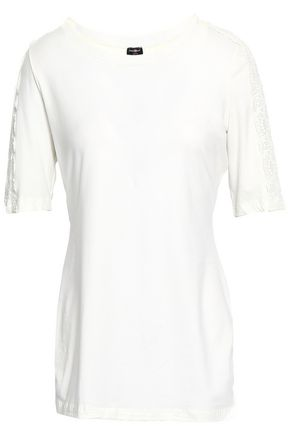 COSABELLA Cotton-blend jersey pajama top