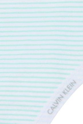 CALVIN KLEIN UNDERWEAR Stretch-cotton low-rise thong