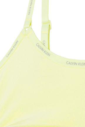 CALVIN KLEIN UNDERWEAR ウォッシュ加工 ストレッチジャージー ソフトカップブラ