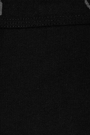 CALVIN KLEIN UNDERWEAR French cotton-blend terry pajama pants