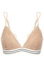 LOVE STORIES Corded lace soft-cup triangle bra