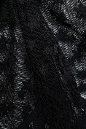LOVE STORIES Madison printed tulle bodysuit