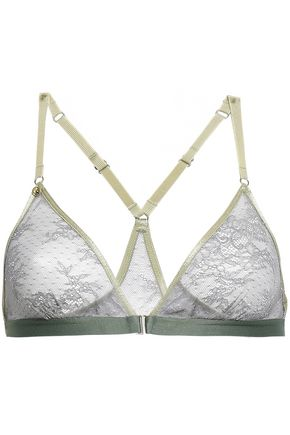 LOVE STORIES Lace soft-cup triangle bra