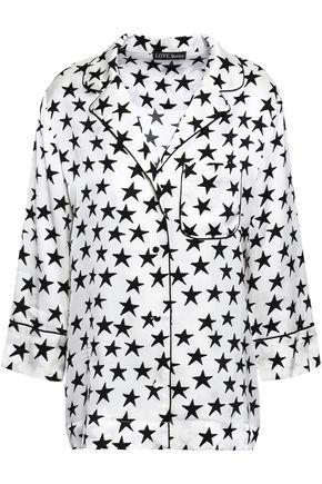LOVE STORIES Jude printed twill pajama top