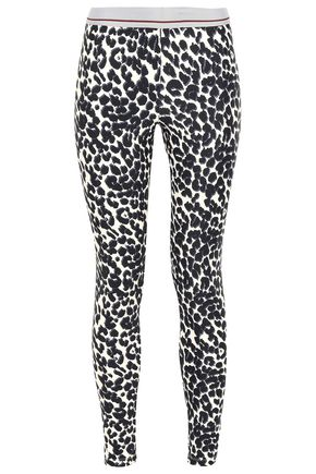 LOVE STORIES Leo leopard-print stretch leggings
