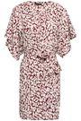 LOVE STORIES Yoko leopard-print cotton robe