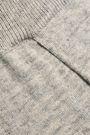 LOVE STORIES Casey lace-up mélange cotton-blend track pants