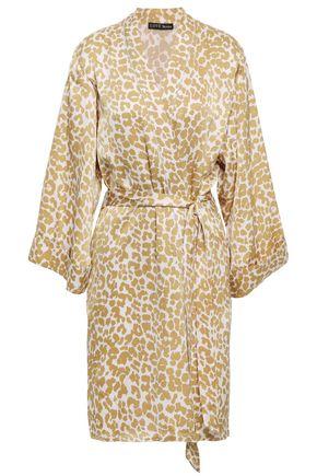 9c6b8219f20 LOVE STORIES Jolie leopard-print sateen robe