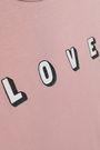 LOVE STORIES Printed stretch-modal jersey bodysuit