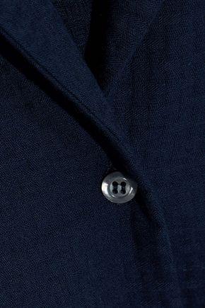 IRIS & INK Serenity cotton-jacquard pajama set