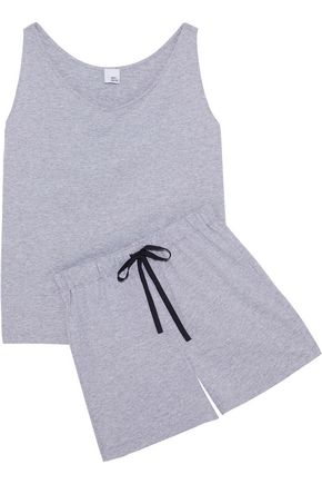 IRIS & INK Alexa cotton-jersey pajama set