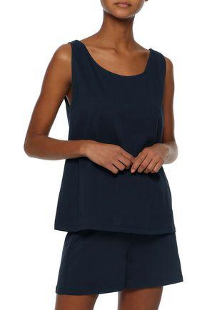 IRIS & INK Alexa cotton-jersey pajama set