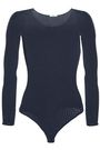 WOLFORD Janis open-knit wool-blend thong bodysuit