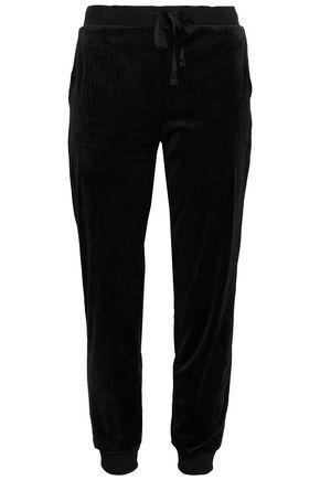 DKNY Modern Generation velour pajama pants