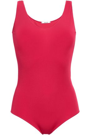 WOLFORD Modal-blend stretch-jersey bodysuit