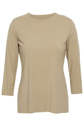 WOLFORD Modal-blend jersey top