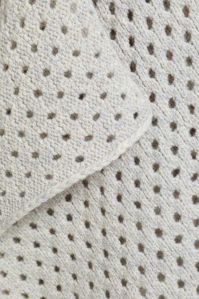 WOLFORD Skylight open-knit virgin wool-blend cardigan