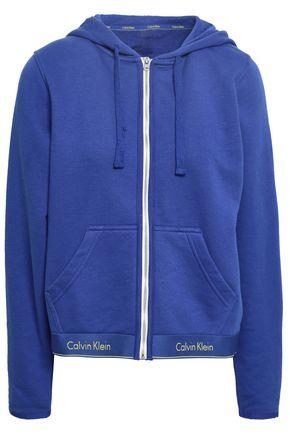 CALVIN KLEIN UNDERWEAR Modern cotton-jersey hooded sweatshirt