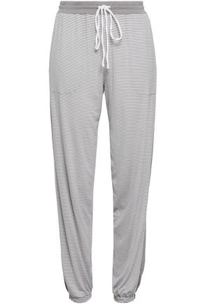 DKNY Striped knitted pajama pants