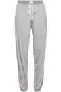 DKNY Striped knitted pajama pants