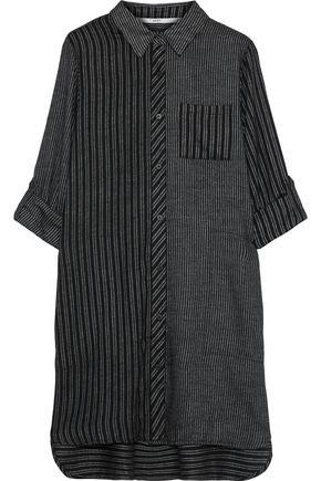 DKNY Checked flannel nightshirt