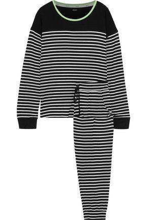 DKNY Printed jersey pajama set