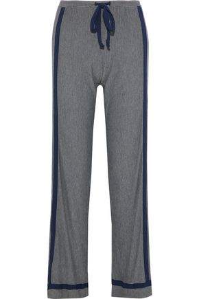 COSABELLA Hustle houndstooth stretch-modal pajama pants