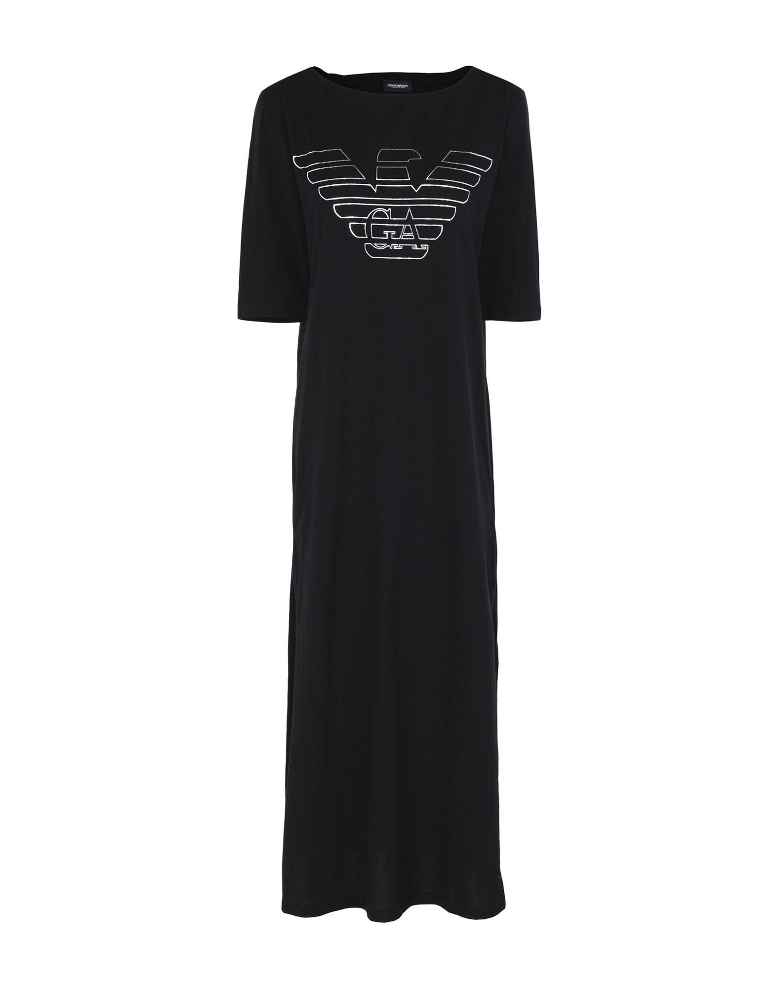 EMPORIO ARMANI Ночная рубашка рубашка ночная с макраме