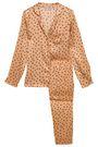 STELLA McCARTNEY Printed silk-satin pajama set