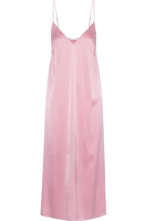 SKIN Stretch-silk satin nightdress