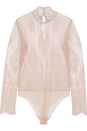 SKIN Sorella stretch-lace bodysuit