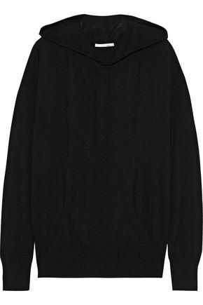 SKIN Malika mélange wool-blend hoodie