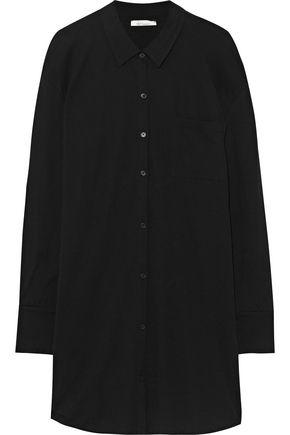 SKIN Pima cotton slub-jersey nightshirt