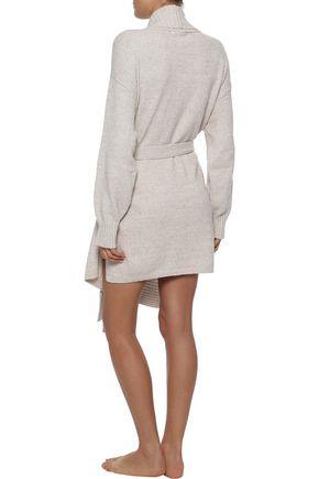 SKIN Pima cotton-blend terry robe
