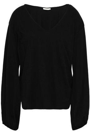 SKIN | Skin Pima Cotton-Jersey Pajama Top | Goxip