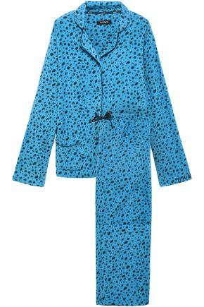 DKNY Printed fleece pajama set