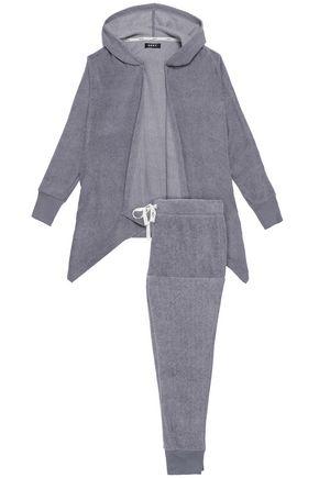 DKNY Fleece hooded pajama set