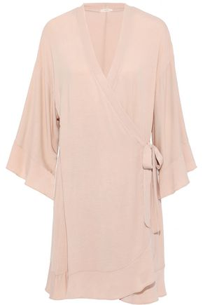 EBERJEY Ivy stretch-modal wrap robe