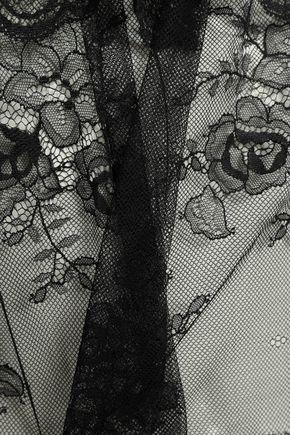 EBERJEY Aurora ruffled lace camisole