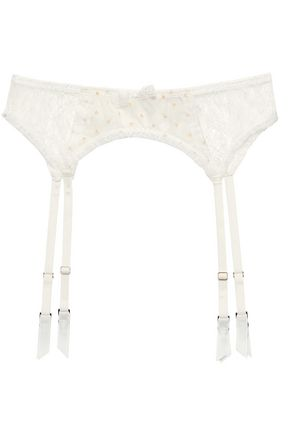 MIMI HOLLIDAY by DAMARIS Lace suspender belt