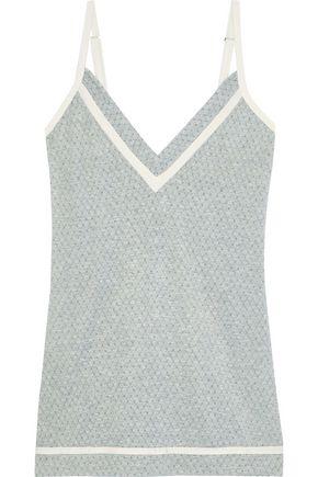 COSABELLA Hustle intarsia modal-blend chemise