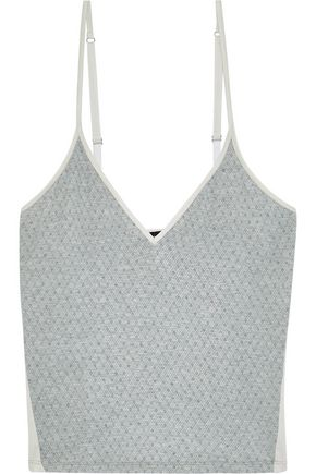 COSABELLA Hustle checked Micro Modal-blend jersey camisole