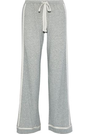 COSABELLA Hustle checked Micro Modal-blend jersey pajama pants