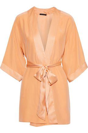 KIKI DE MONTPARNASSE Silk-charmeuse robe