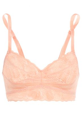 COSABELLA Sweet Treat gathered lace bralette