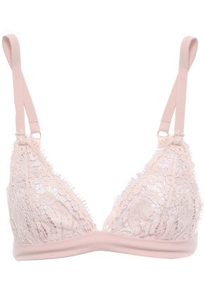 I.D. SARRIERI Corded lace soft-cup triangle bra