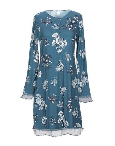 Фото - Ночная рубашка грифельно-синего цвета