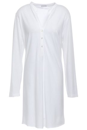 HANRO Cotton and modal-blend nightshirt