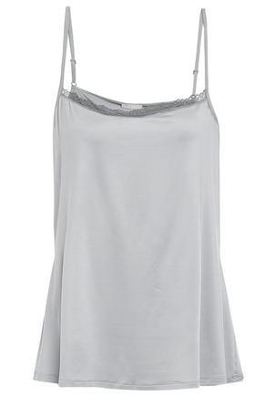 HANRO Lace-trimmed stretch-jersey camisole